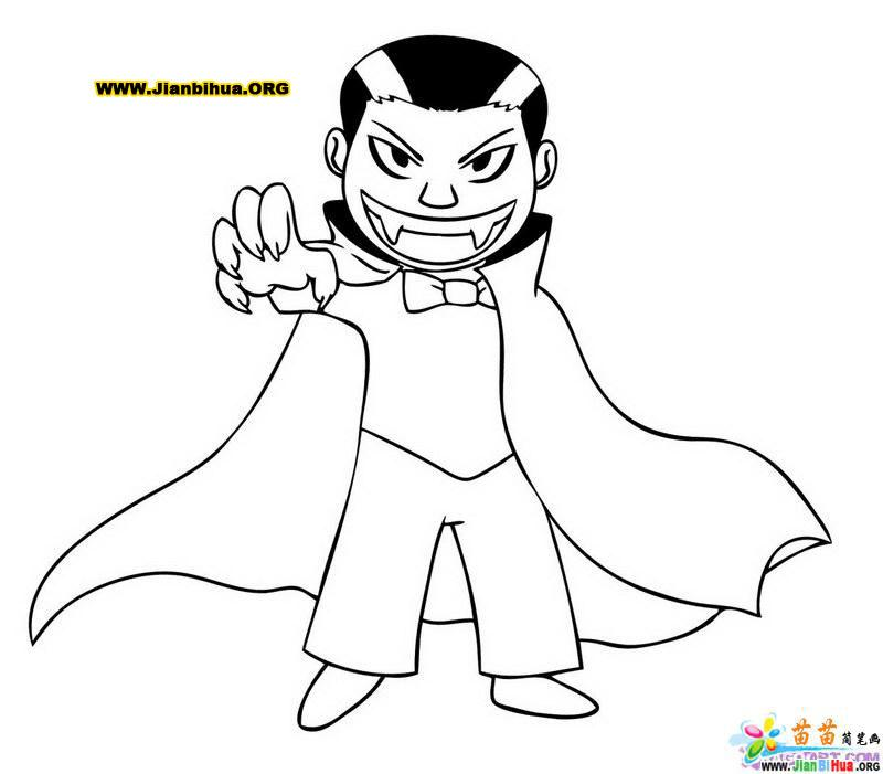 吸血蝙蝠简笔画7张图片-卡通动物-美歪网www.meiwai