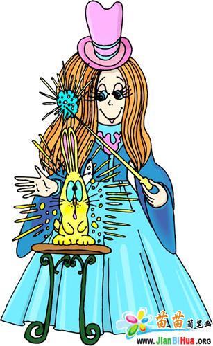 简笔画 巫女/类别:科幻人物简笔画 图片张数:1张上传者:小任子尺寸:...