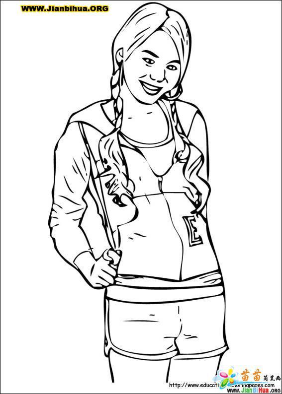 高中学生简笔画设计8张 第8张