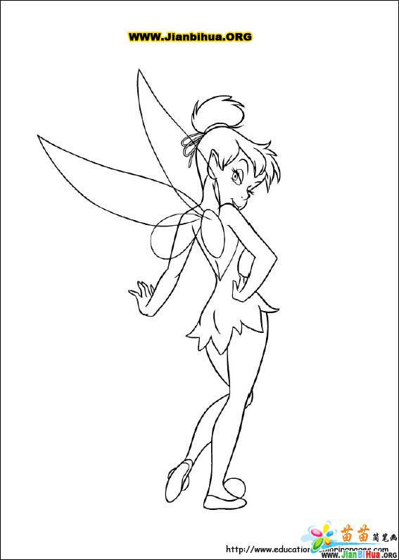 Dibujos Para Colorear De C anilla besides Peter Pan Black And White Cliparts in addition Dibujo De Tinkerbell Sonriendo furthermore Fairies Coloring Pages 13 additionally 321514860879696481. on tinker bell silhouette