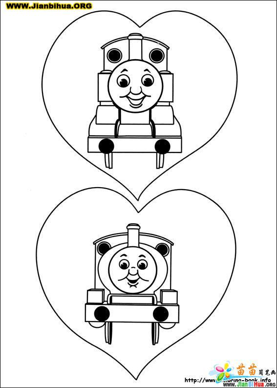 James From Thomas The Train Coloring Pages