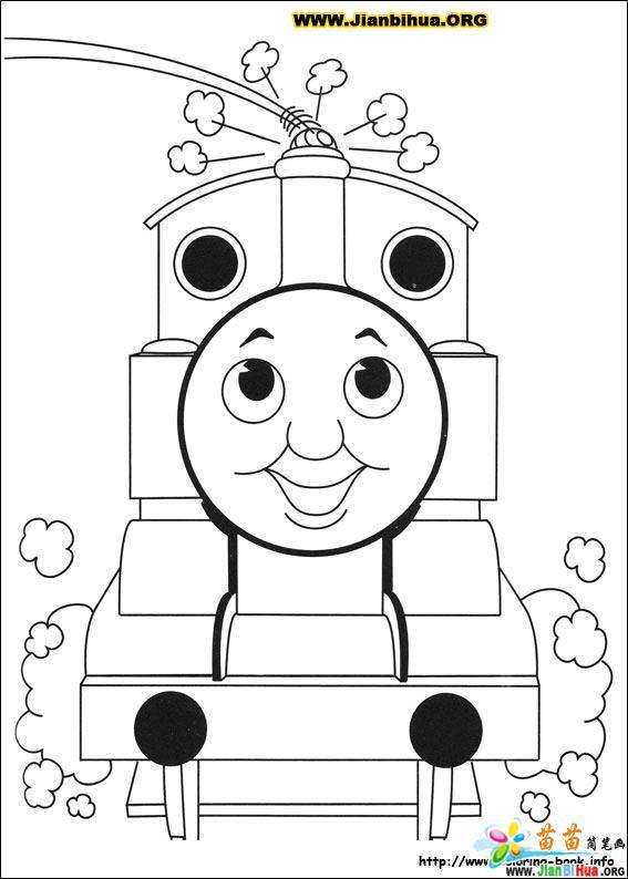 托马斯与小火车简笔画39张 第16张 Percy The Coloring Pages