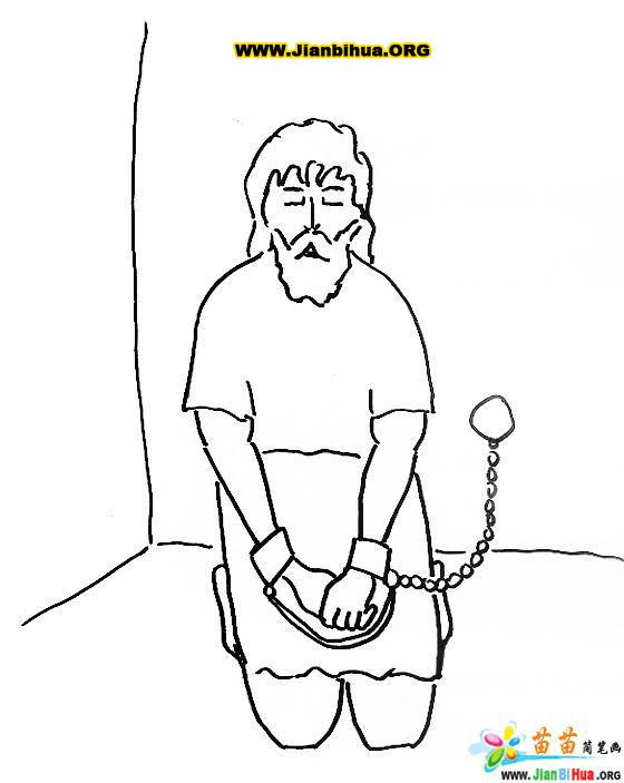 jailbird coloring pages - photo #28