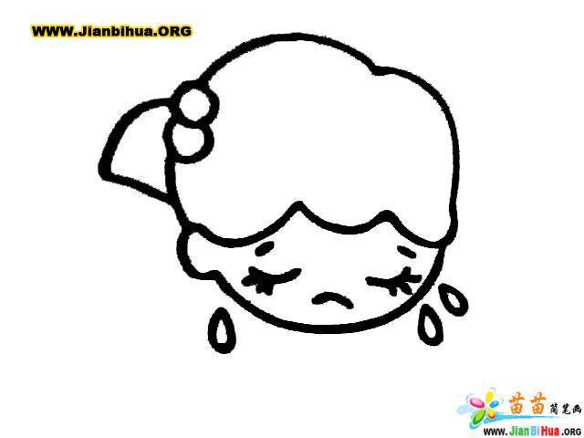 痛苦哭泣的表情图片展示图片