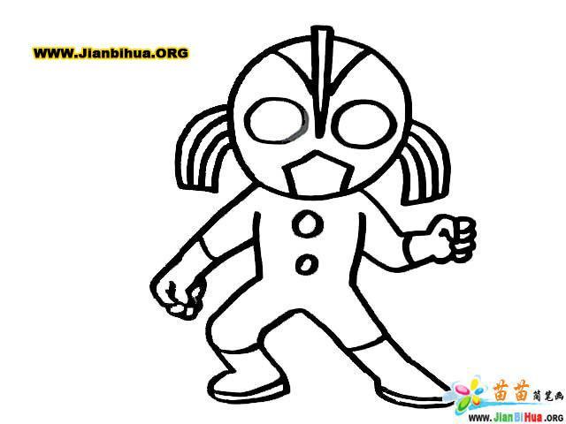 迪斯尼之超人总动员简笔画24张第3张图片