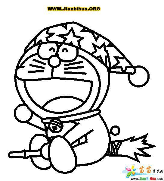 哆拉a梦(机器猫)简笔画25张