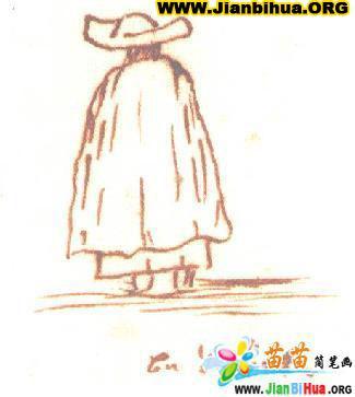 安徒生画的插图作品