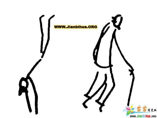 人物姿势简笔画图片11张(第8张)简介:该简笔画作品上传于2011-11-12,一共11张,首张简笔画图片格式为JPG,尺寸为570x335像素,大小为16 KB,由山东省腾州市善国中学的反对上传。 本站推荐骆驼简笔画视频教程,小青菜简笔画图片教程二,关于动作的简笔画彩色系列二18张,小汽车简笔画图片大全12张,帆船简笔画图片教程二,闹钟简笔画(时钟简笔画图片),如何画七星瓢虫简笔画图片教程,希望你喜欢。