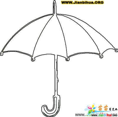 雨伞简笔画图片大全(5张)(第2张)