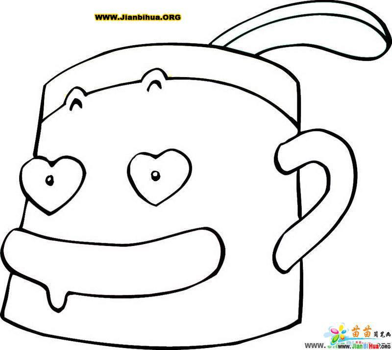 卡通简笔鱼的画法_卡通简笔画马的画法_卡通人物简