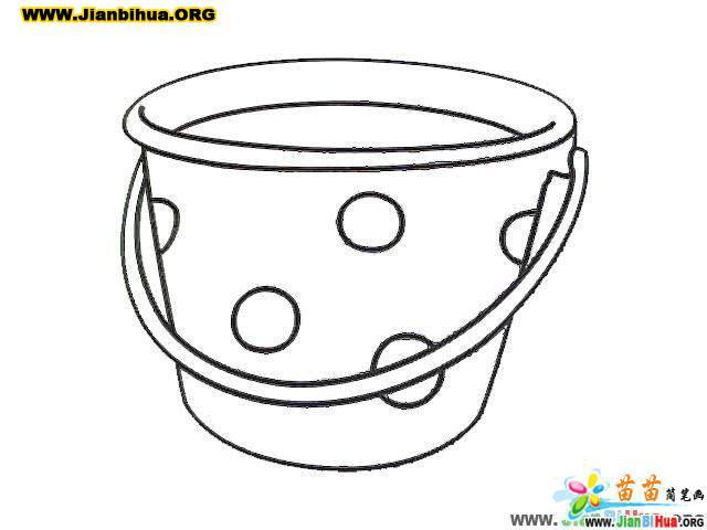 装水的水桶简笔画(第2张)