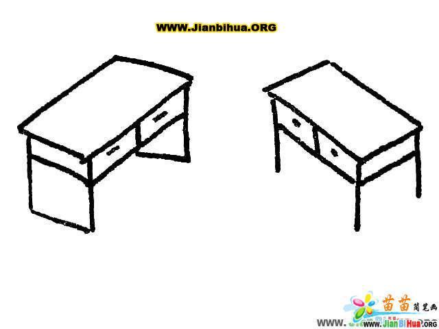 沙发简笔画 椅子简笔画 凳子简笔画 桌子简笔画 衣柜简笔画 第7张