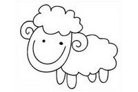 小绵羊简笔画怎么画