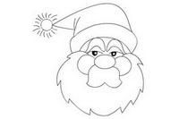 圣诞老人简笔画怎么画简单又好看