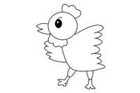 小鸡简笔画怎么画简单又漂亮