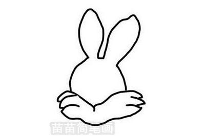 兔子简笔画怎么画简单又好看 二