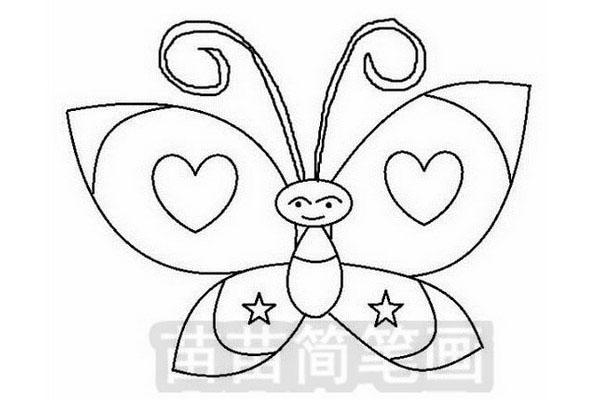 蝴蝶简笔画怎么画简单又漂亮