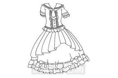 裙子简笔画