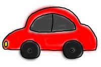 小汽车简笔画怎么画简单又漂亮