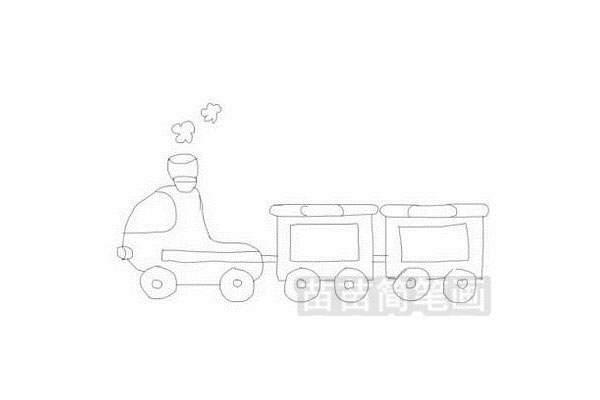 火车简笔画