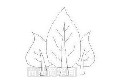 树林简笔画