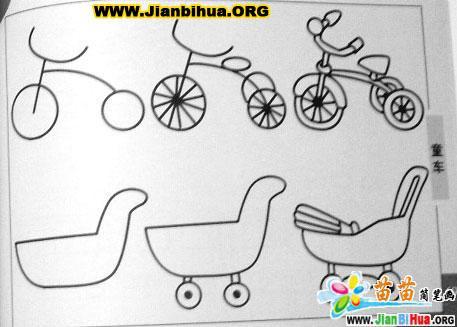儿童简笔画汽车图片_图片大全图片