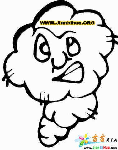 猴子卡通图片简笔画动物 猴子卡通图片动物简笔画步骤图片大全_.