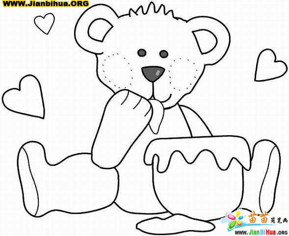 儿童涂色简笔画图片(48张)(第8张)