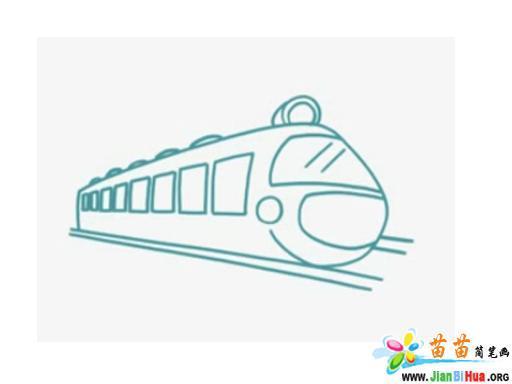 火车简笔画图片