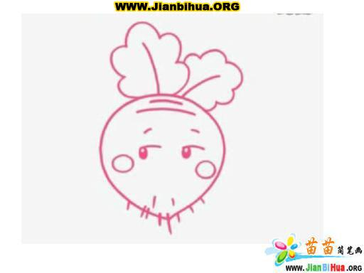 萝卜简笔画图片