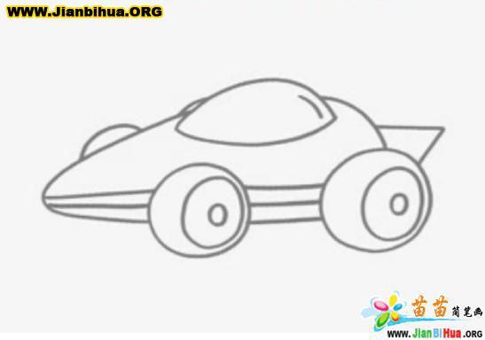 坦克简笔画; 简笔画图片大全画太阳; 关于车的简笔画图片--赛车