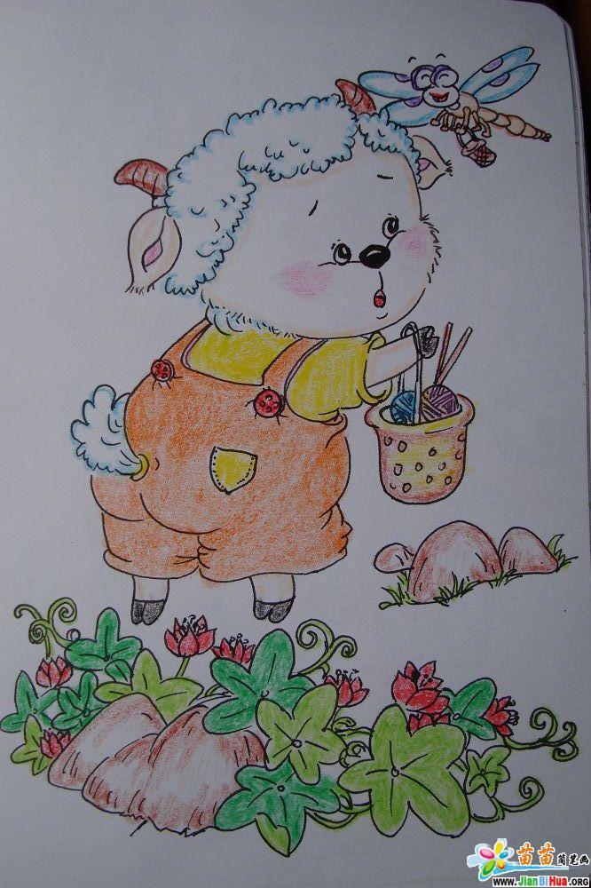 彩色简笔画(吴春联老师作品13张)