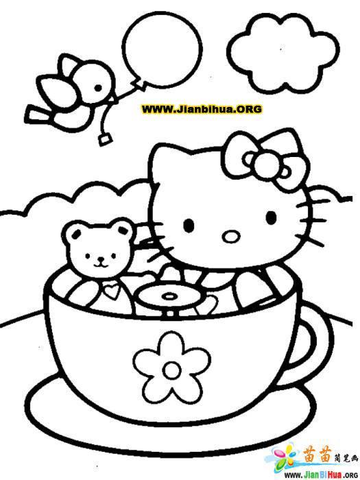 迪斯尼简笔画——可爱女孩丝丝(30张)