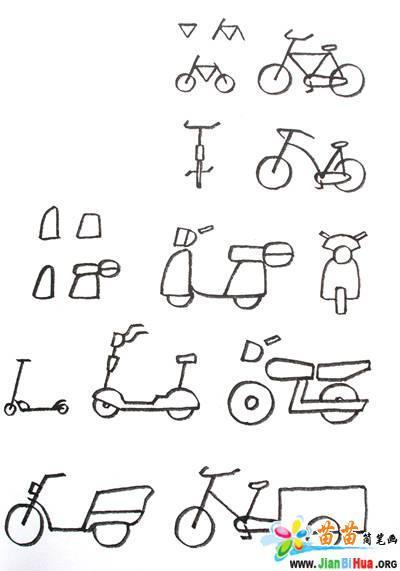 交通工具简笔画图片7张