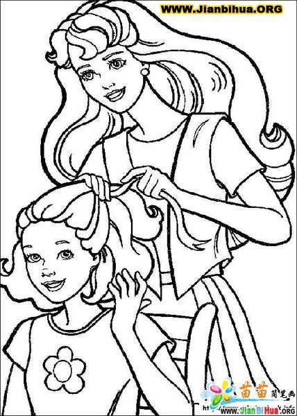 公主简笔画 步骤 迪士尼 素描