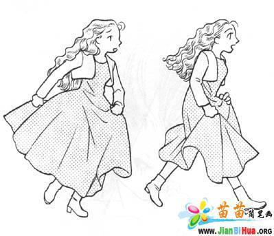 跑步机简笔画_跑步机简笔画画法