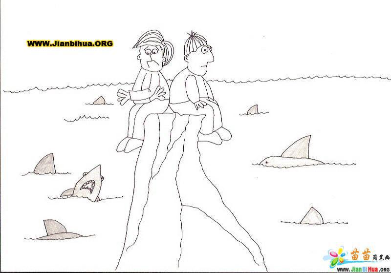 儿童简笔画作品欣赏23张 第23张图片