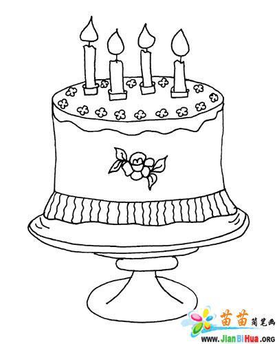 生日主题简笔画图片7张 第6张