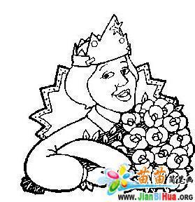 母亲节简笔画18张图片(节日篇)
