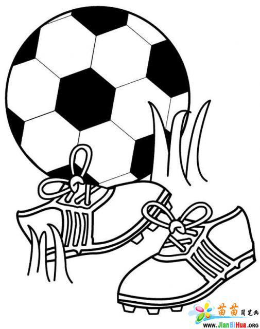 足球简笔画_踢足球简笔画_人物简笔画大全_美术必学课