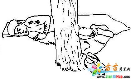 劳动节简笔画图片