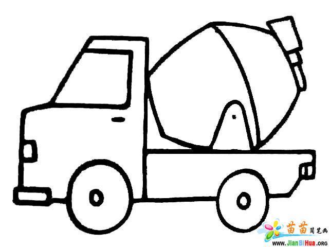 车简笔画_