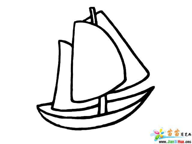 轮船简笔画图片大全(7张)