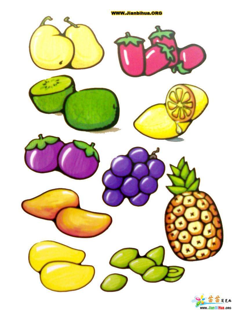 简笔画葡萄的画法内容简笔画葡萄的画法图片
