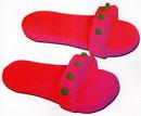 橡皮泥手工制作教程:拖鞋