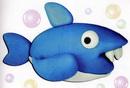 橡皮泥手工制作教程:鲨鱼