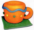 橡皮泥手工制作教程:杯子