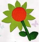 橡皮泥手工制作教程:向日葵