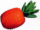 橡皮泥手工制作教程:菠萝
