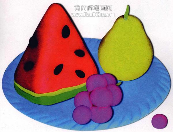 橡皮泥手工制作教程:水果